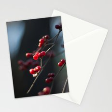 Winter Berries II Stationery Cards