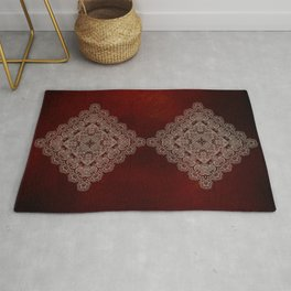 Silvery Doodle Rug