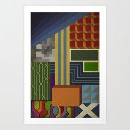 Scan 2 Art Print