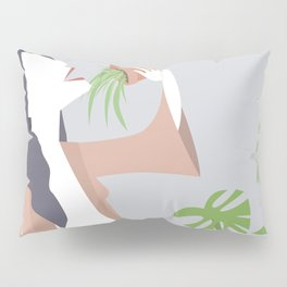 Singing Plant Lady Pillow Sham