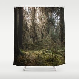 Rainforest Adventure - Nature Photography Shower Curtain