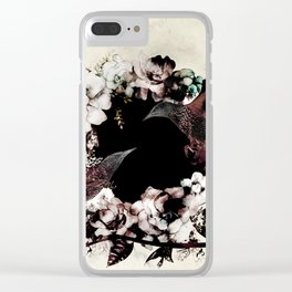 DEEP ROLLERS (STARLINGS) Clear iPhone Case