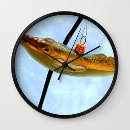 I Had A Hunch-back Wall Clock
