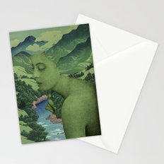 GREEN JEAN Stationery Cards