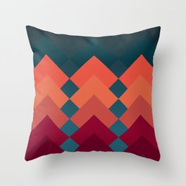 Bold Liner Throw Pillow