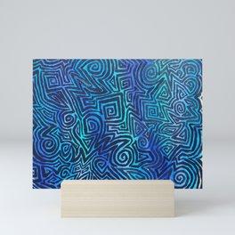 Blue Trip Mini Art Print