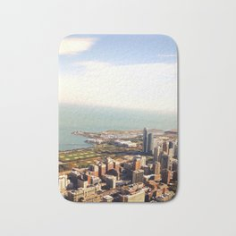 Chicago from the Skydeck Bath Mat