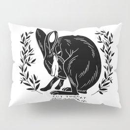 The Blind Jack Rabbit Pillow Sham