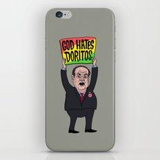 God Hates Doritos iPhone & iPod Skin