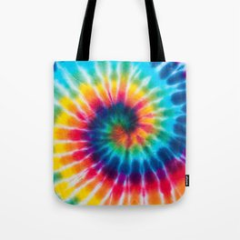 Tie Dye 2 Tote Bag