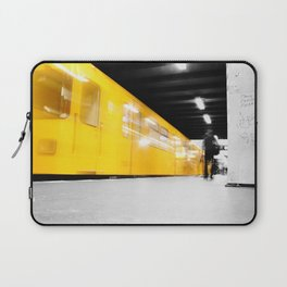 U-Bahn Berlin Selective Colour Laptop Sleeve