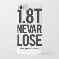 audi iPhone & iPod Cases featuring 1.8T NEVAR LOSE by shedpress
