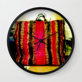 Mexican Bag Wall Clock