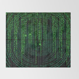Matrix Throw Blanket