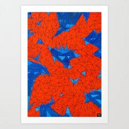 FTR4 Art Print