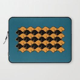 Herringbone Goldfish Laptop Sleeve