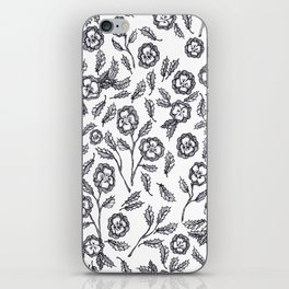 French Florals iPhone Skin