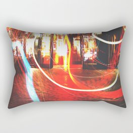 Bos ton at Night Rectangular Pillow