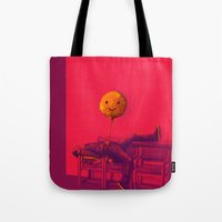 stiles Tote Bags featuring Stiles by robin