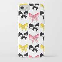 bows iPhone & iPod Cases featuring Bows by erin m higgins