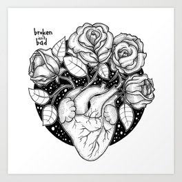 Blossom that Blooms in the Heart Art Print