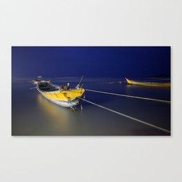 Sleeping Harbor Canvas Print