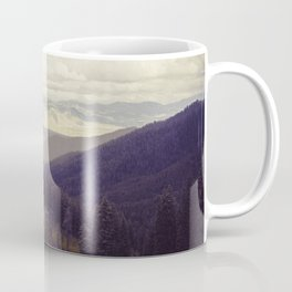 Above The Mountains Coffee Mug