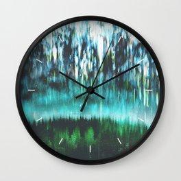 Acid dreams Wall Clock