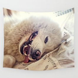 Playful One Wall Tapestry