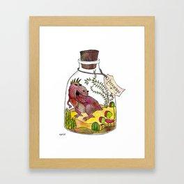 Terrorium Framed Art Print