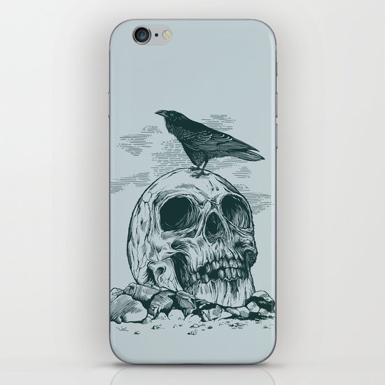 Raven's Cliff iPhone & iPod Skin