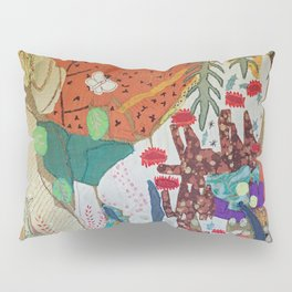 Llama and butterfly Pillow Sham