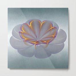 One Flower Metal Print