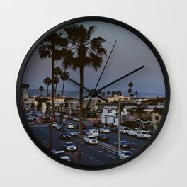 balboa boulevard Wall Clock