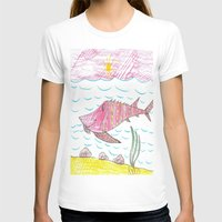 tennessee T-shirts featuring Tennessee Lake Sturgeon by Ryan van Gogh