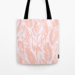 Calathea pale Tote Bag