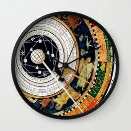 Zodiac Astronomical Clock Compass Wall Clock