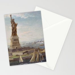 Liberty Island Stationery Cards