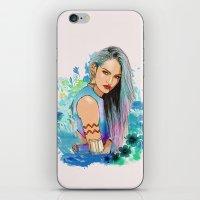 aquarius iPhone & iPod Skins featuring Aquarius by Sara Eshak