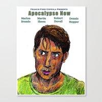 apocalypse now Canvas Prints featuring Apocalypse Now by AdrockHoward