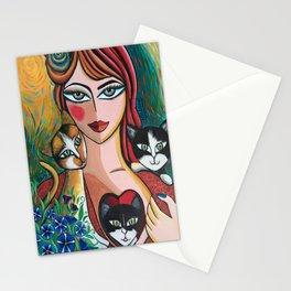 Les chéris de Martine Stationery Cards