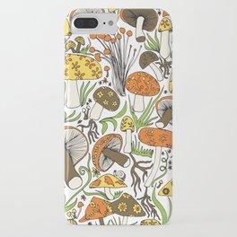 Hand-drawn Mushrooms iPhone Case