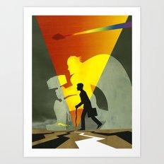 Hammertime! Art Print