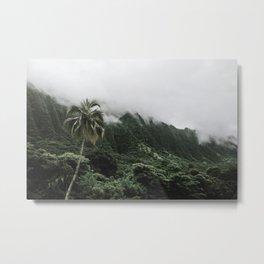 Cloudy Hawaii (1) Metal Print