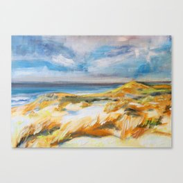The Dunes in Ostend Canvas Print