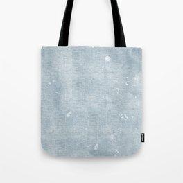 distressed chambray denim Tote Bag