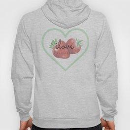 i Love strawberries Hoody