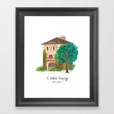 V stattui winery Framed Art Print