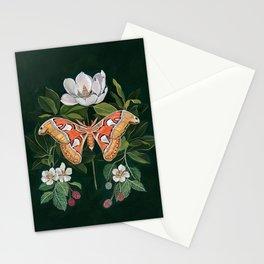 Atlas Moth Magnolia Stationery Cards