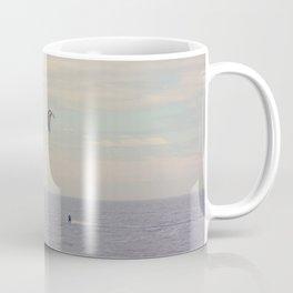 Kitesurfing on the St-Lawrence river (Québec, Canada) Coffee Mug